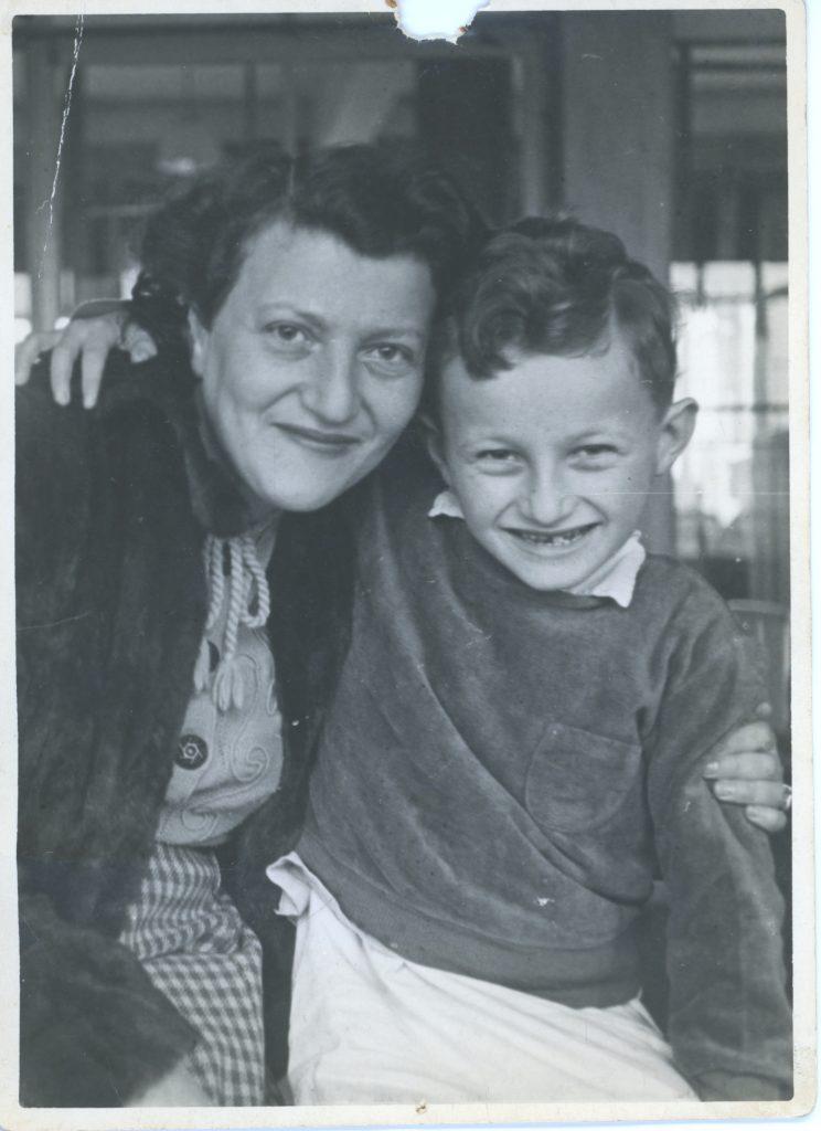 Sieg en zijn moeder herenigd.