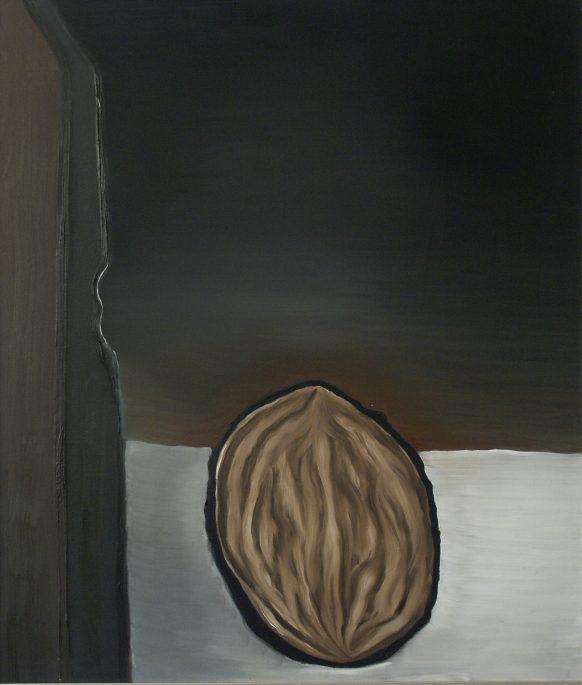 Een Teken van de Grootste. 1983. Olieverf op doek. 95 x 110 cm.