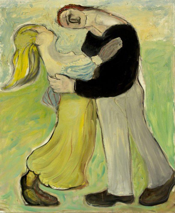 Lovers' Dance. 1999. Olieverf op canvas. 95 x 115 cm.