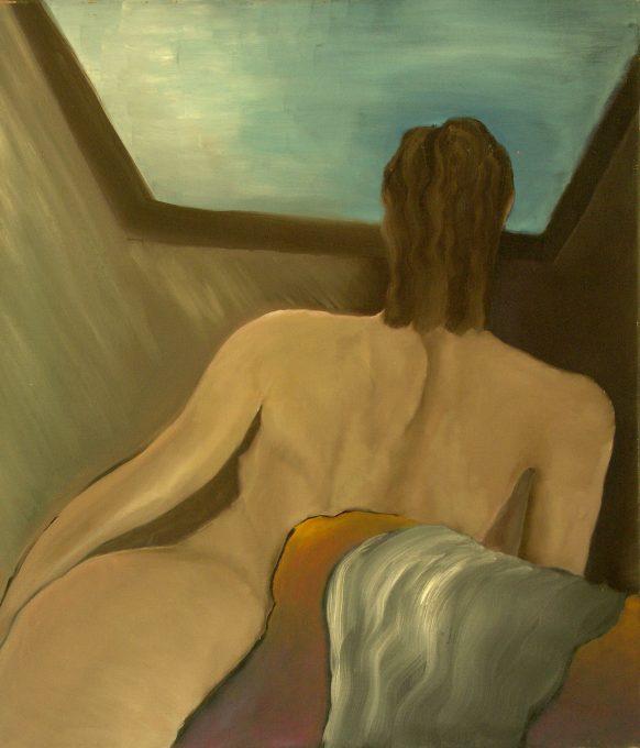Karen. 1983. Olieverf op doek. 95 x 110 cm.