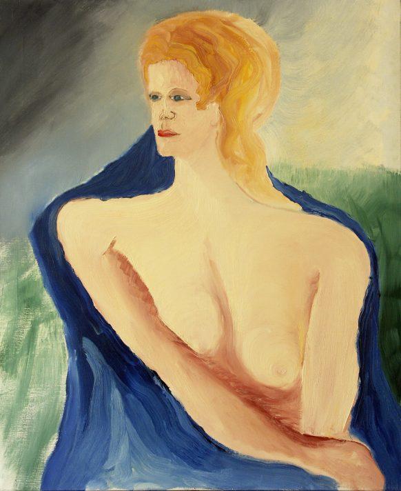 Karen. 1983. Olieverf op doek. 95 x 115 cm.
